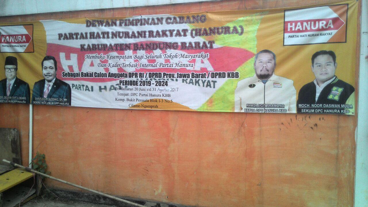 Photo of Berminat Jadi Caleg, Silakan Daftar ke Hanura KBB..!