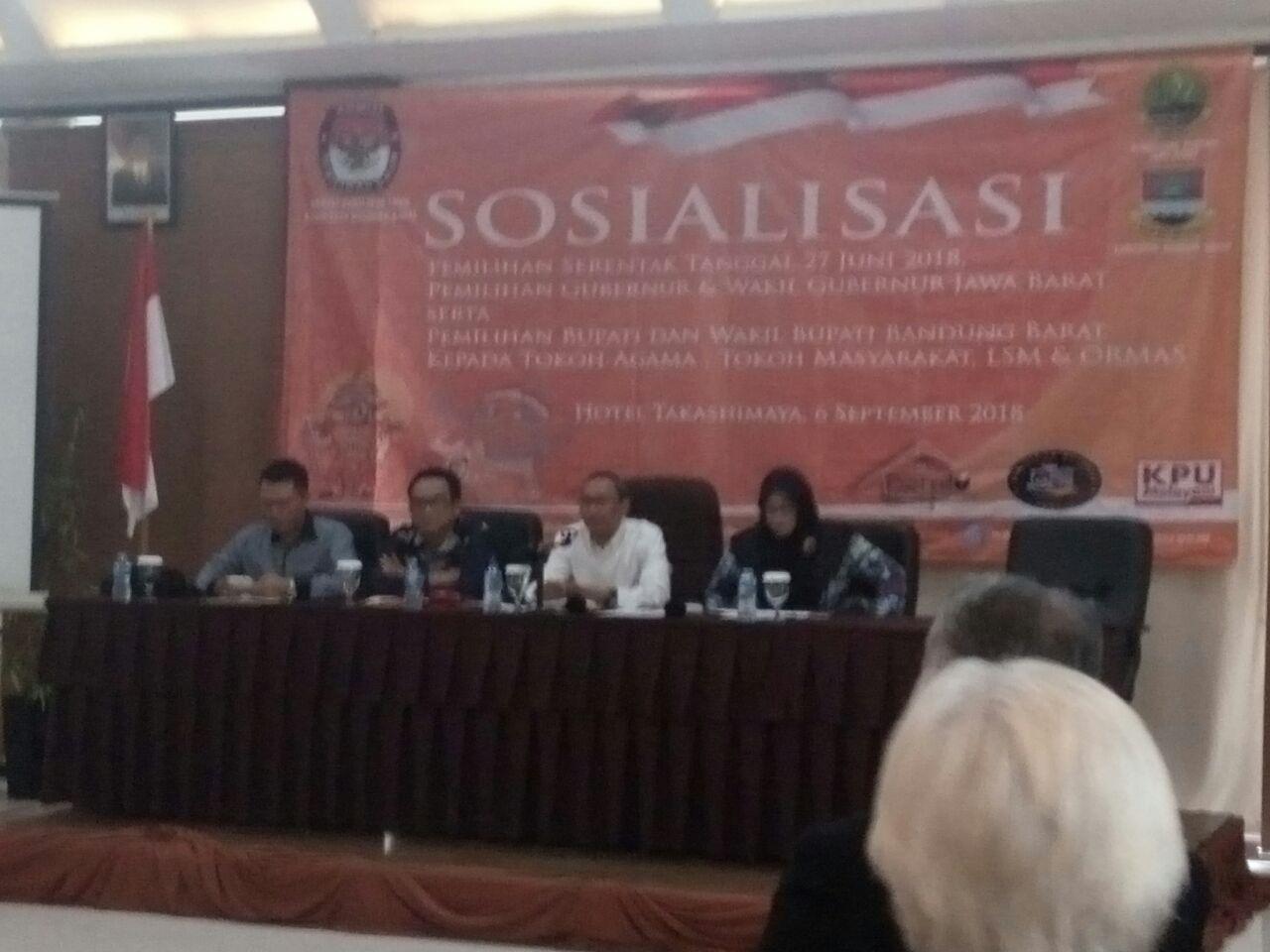Photo of Sejumlah Tokoh di KBB Ikuti Sosialisasi Pilkada Serentak