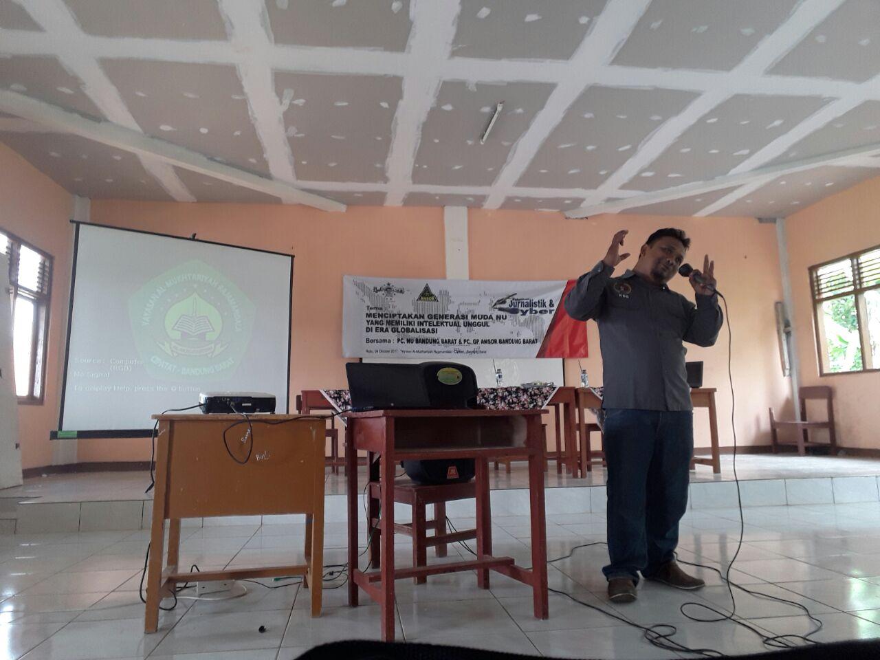 Photo of GP Ansor & PC NU Cetak Santri Jadi Wartawan
