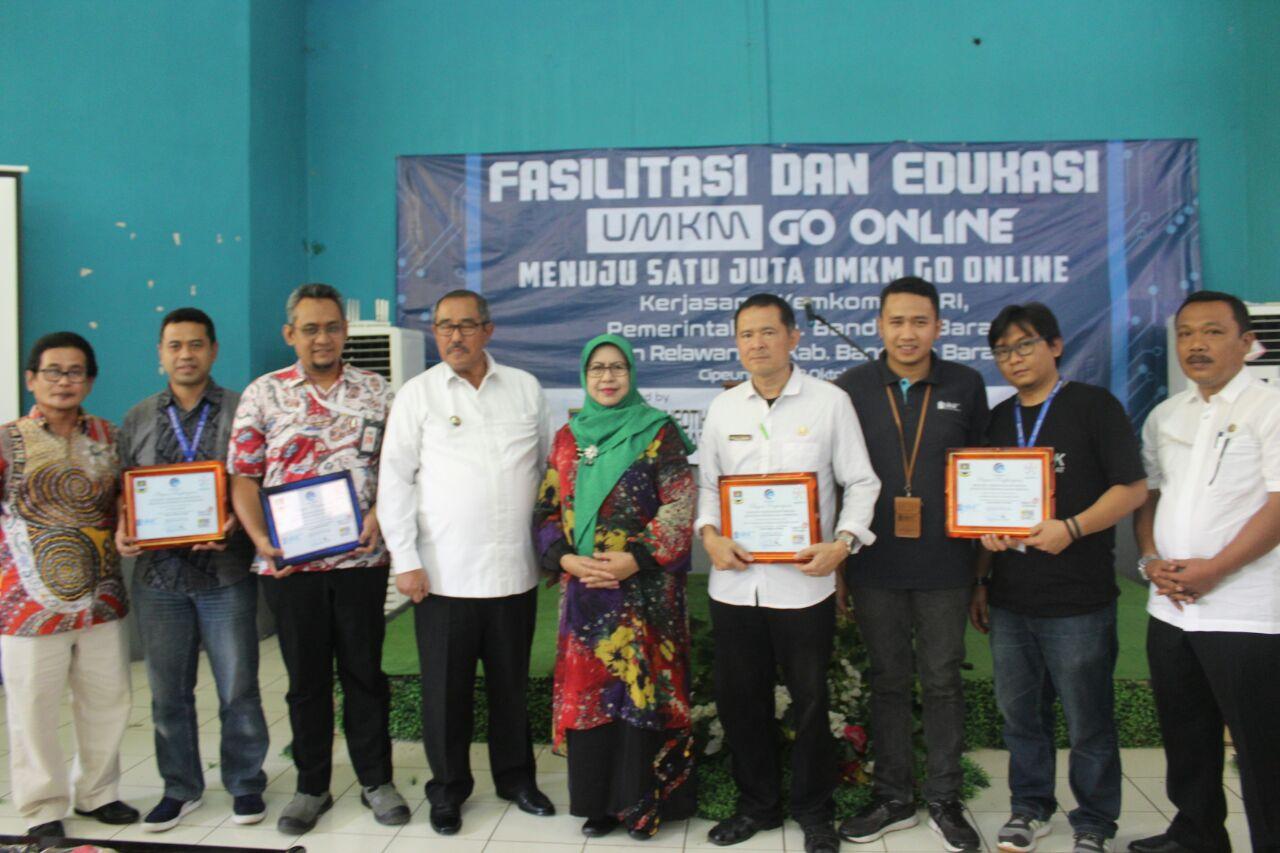 Photo of Tiga Website Desa Siap Launching