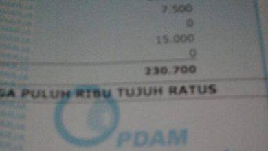 Photo of Sebulan Bayar Rp 230.700, Air PDAM Tirtarahardja Jarang Ngocor
