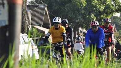 Photo of Personel Polresta Bandung Gowes 14,6 KM