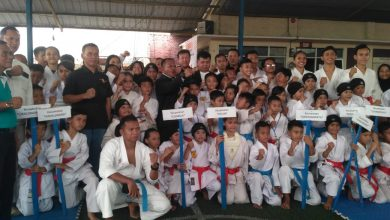 Photo of 320 Atlet Karate Berlaga di Porkab III Bandung Barat