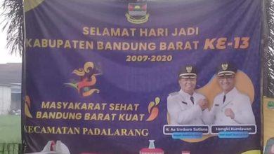 Photo of Spanduk Ucapan Hari Jadi ke-13 KBB Salah Penulisan, Bupati Perintahkan untuk Dicabut